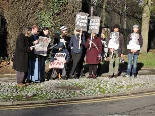 Holy Innocents Day vigil at PJHQ Northwood